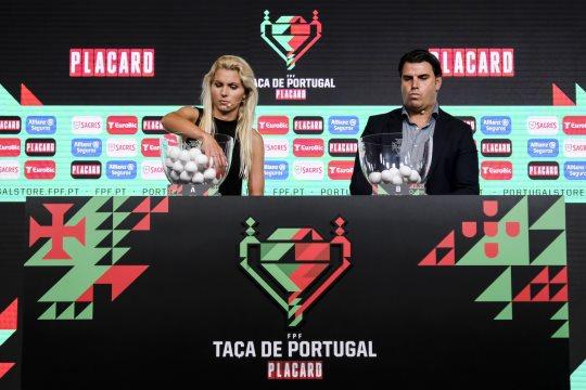 TAÇA DE PORTUGAL: SPORTING EM ALVERCA, BENFICA NA COVA DA PIEDADE E FC PORTO EM COIMBRÕES