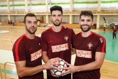 Os três guarda-redes convocados por Jorge Braz para o estágio que decorre  em Rio Maior aguardam a estreia na Seleção A 06dc86e530dd1