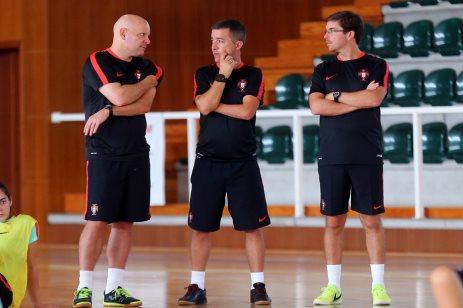 1fa731f0ce Jorge Braz e Luís Conceição candidatos a melhor do Mundo. Futsal - Seleção A