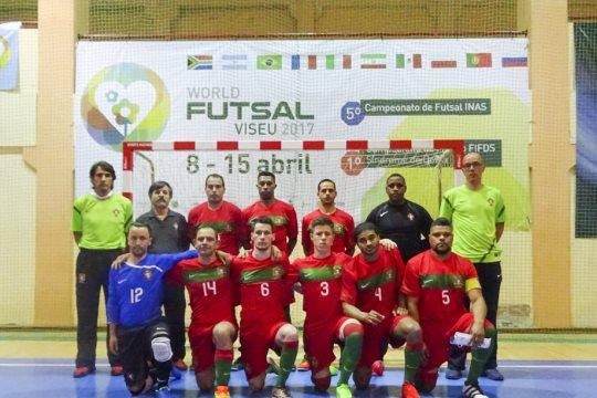 Portugal vence Mundial de Futsal INAS 4c3b8666fc6a6