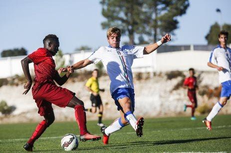 Portugal vence a Itália. Seleção Sub-19 ad6cd4b597163