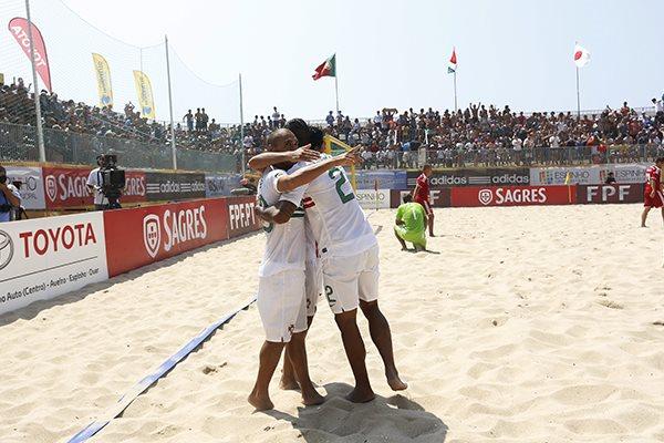 Futebol de Praia: Portugal - EUA