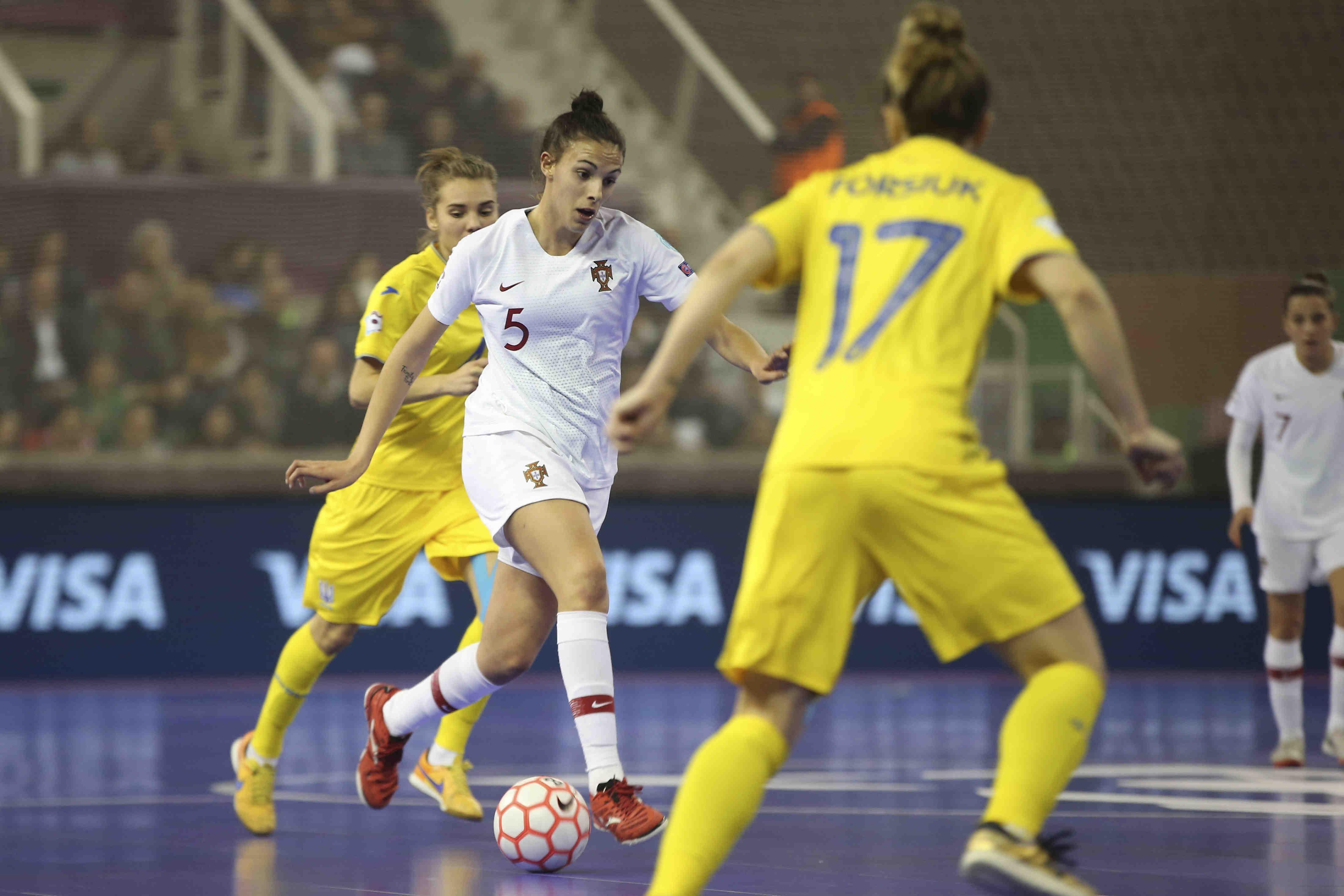 36f79bce2531f Ucrânia 1- 5 Portugal (meias-finais do Europeu de futsal feminino)