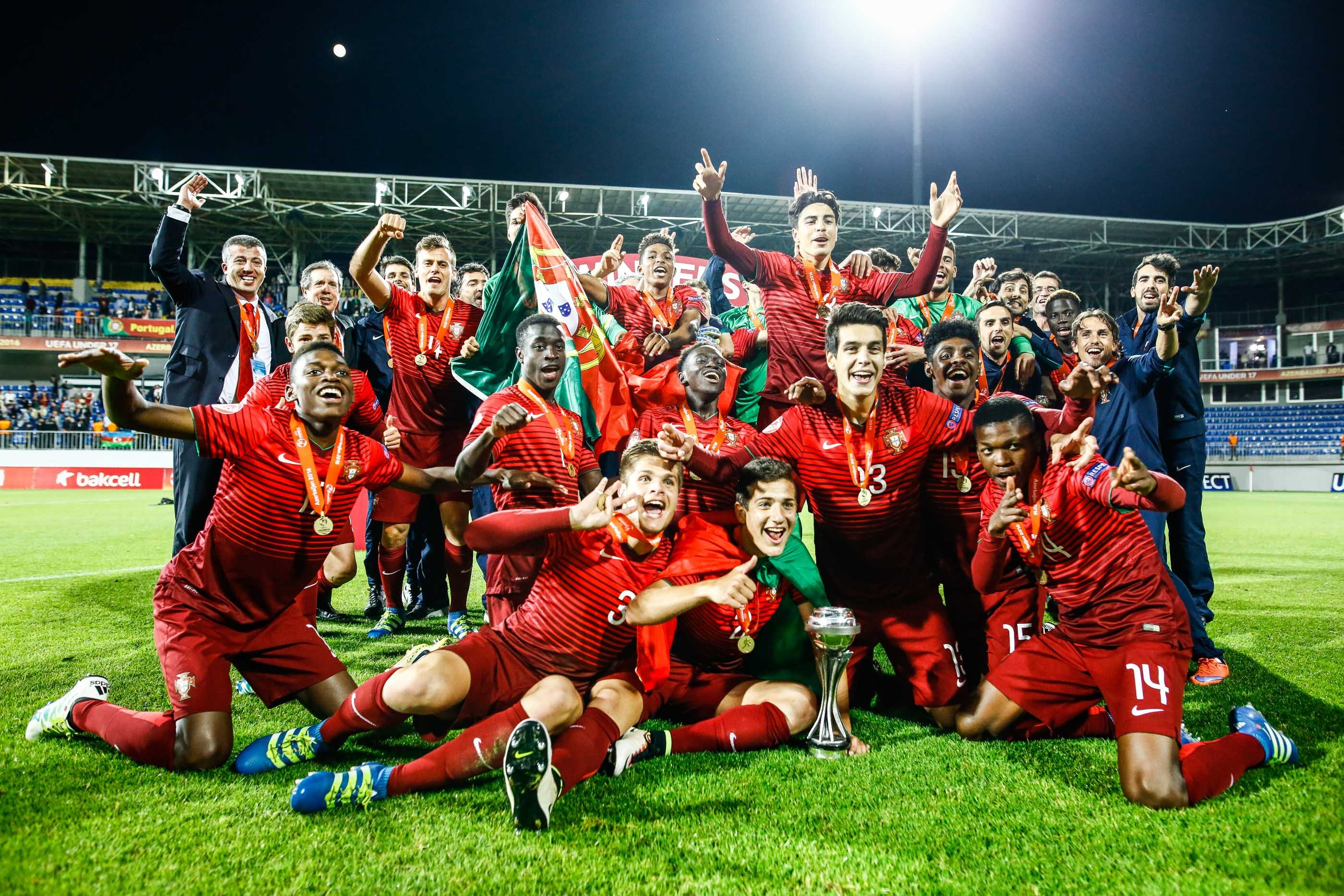 6fbdb7f621 Portugal conquista título europeu sub-17